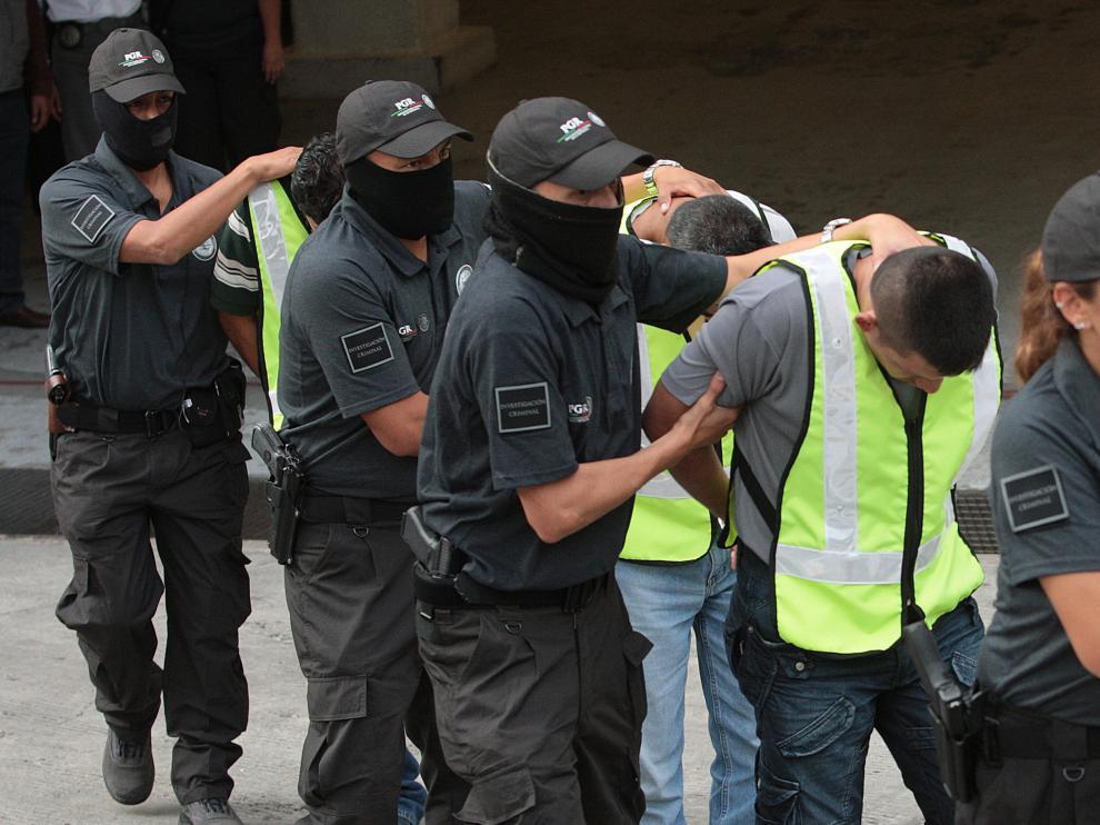 La policía ha detenido al líder máximo y otros miembros del grupo Guerreros Unidos