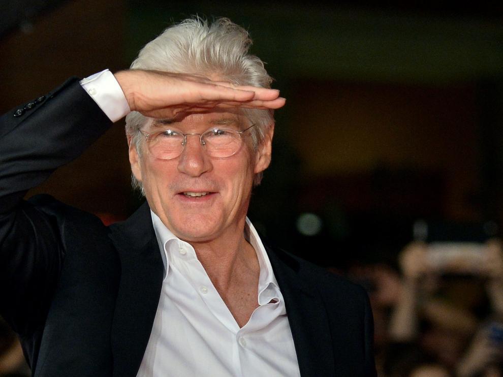 Gere, en el Festival de cine de Roma