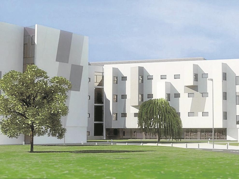 l nuevo centro hospitalario contará con 198 camas de uso generalista y 69 de especialidades, unas cifras distintas de las proyecto original -en la recreación infográfica-, que contemplaba 242 camas de uso general y 58 especializadas.