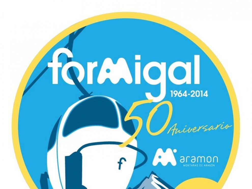 El logo del 50 aniversario de Formigal