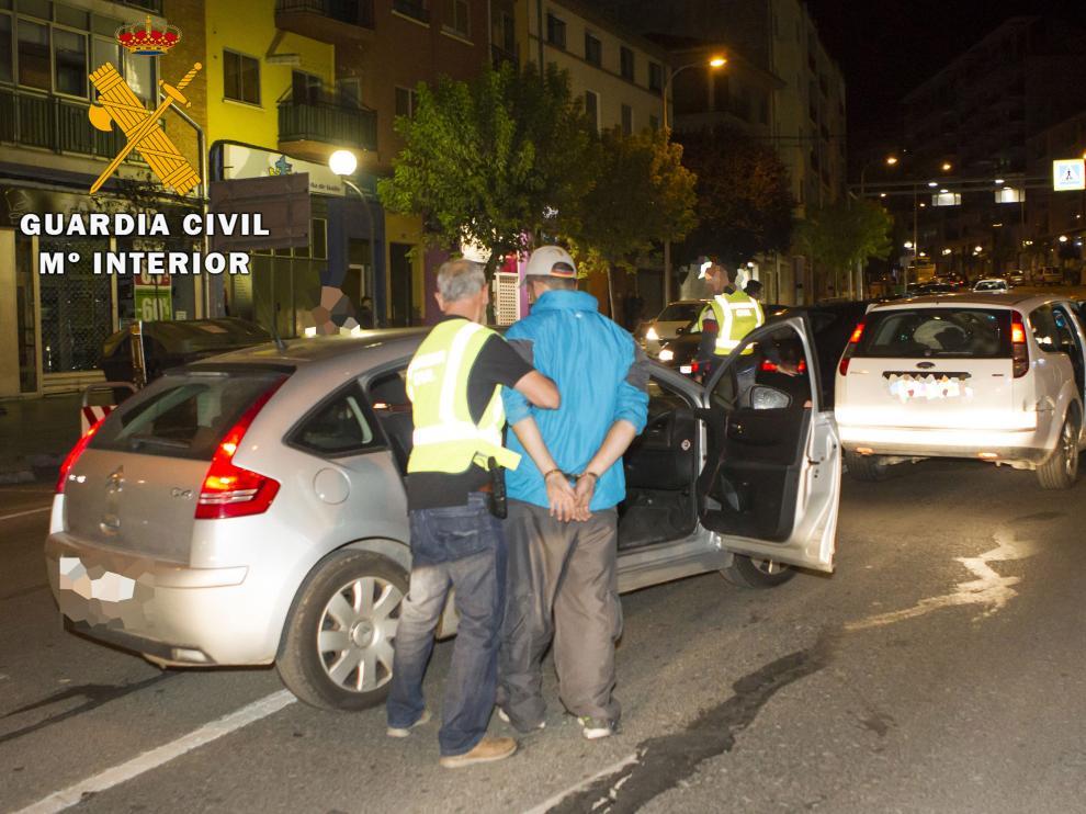 Detenidos en Teruel cinco miembros de un grupo criminal muy violento