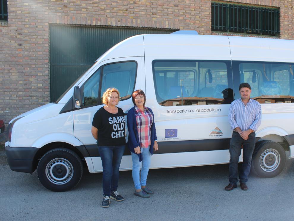 La comarca de Los Monegros mejora el transporte adaptado