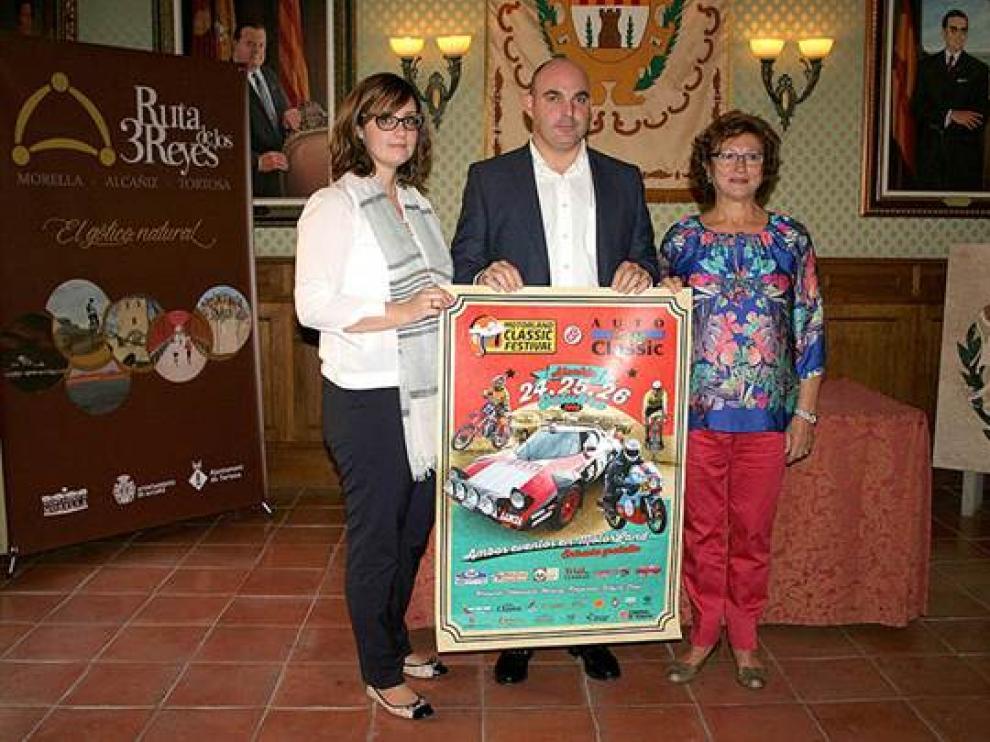 El Ayuntamiento de Alcañiz vuelve a organizar la Feria del Vehículo Clásico que este año se traslada a Motorland Aragón