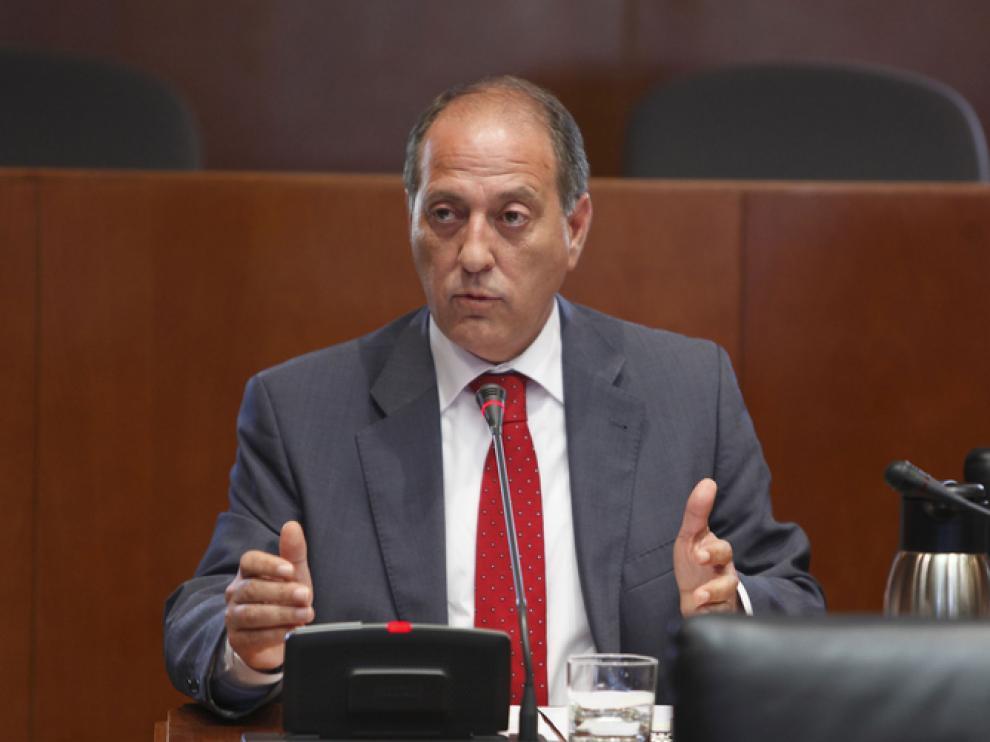 José Ramón Ibáñez, en la Comisión.