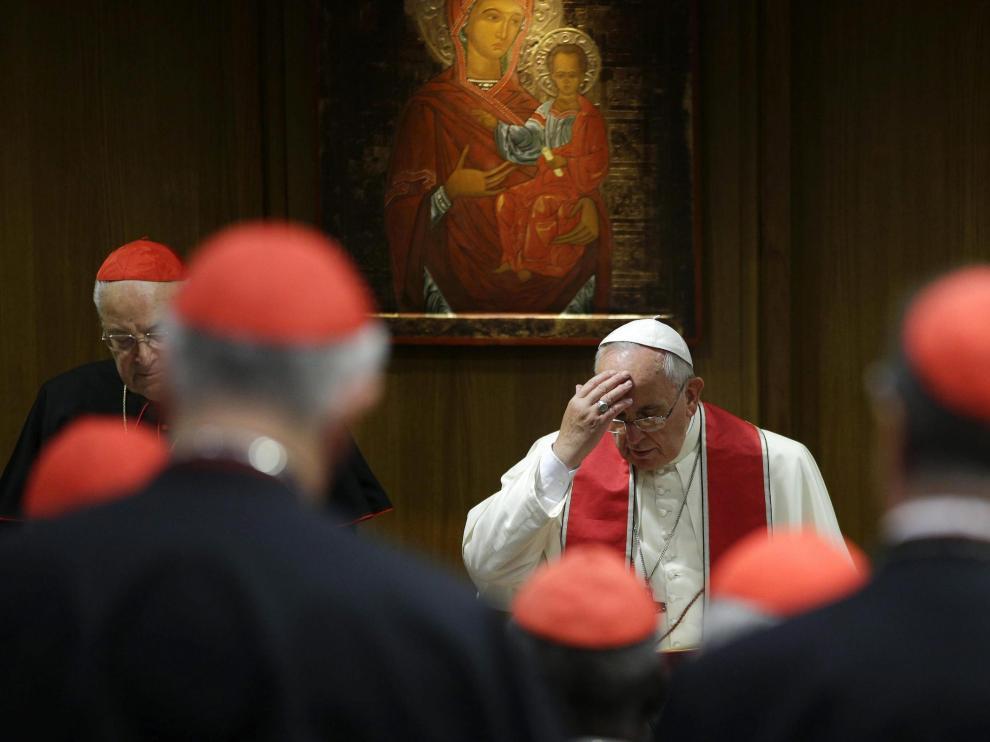 El papa Francisco, este lunes