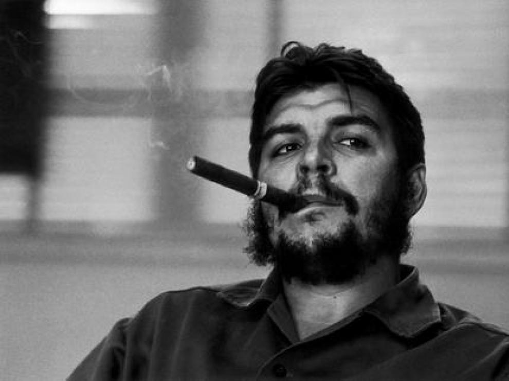Fotografía de Burri al Che