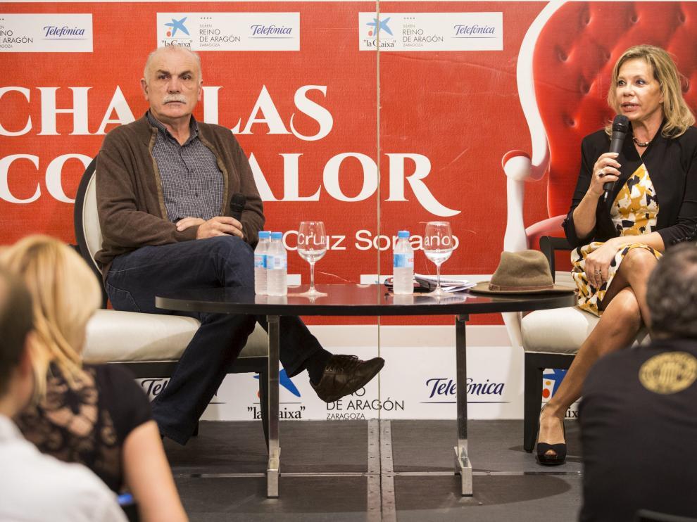 Eudald Carbonell y Mari Cruz Soriano