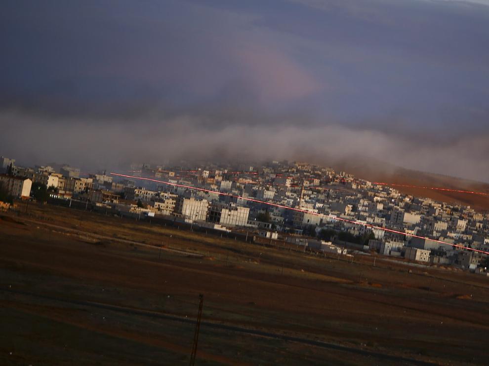 La ciudad siria de Kobani