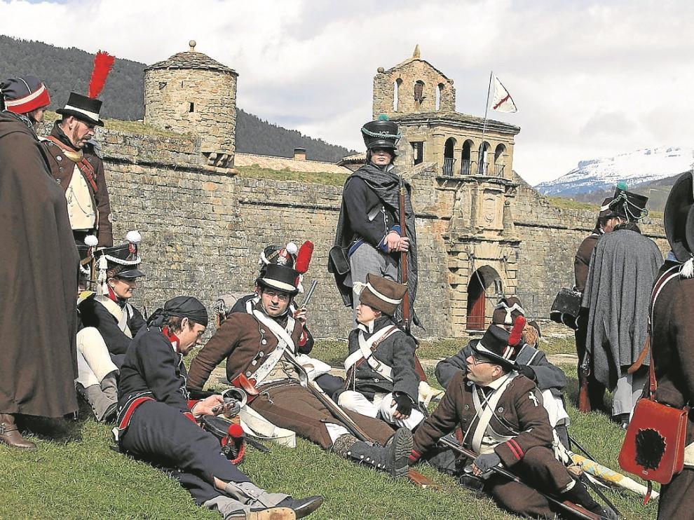 La Ciudadela, Bien de Interés Cultural, fue escenario recientemente de una recreación histórica.