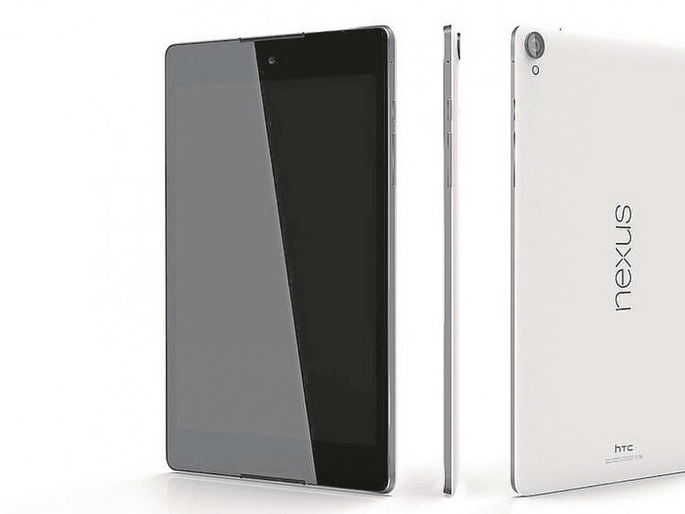Nexus 9. Altavoces frontales con tecnología  BoomSound y protección Gorilla Glass 3 para la pantalla.