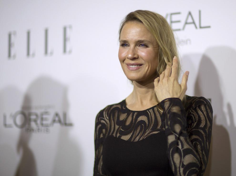 Renée Zellweger en el evento de la revista 'Elle'
