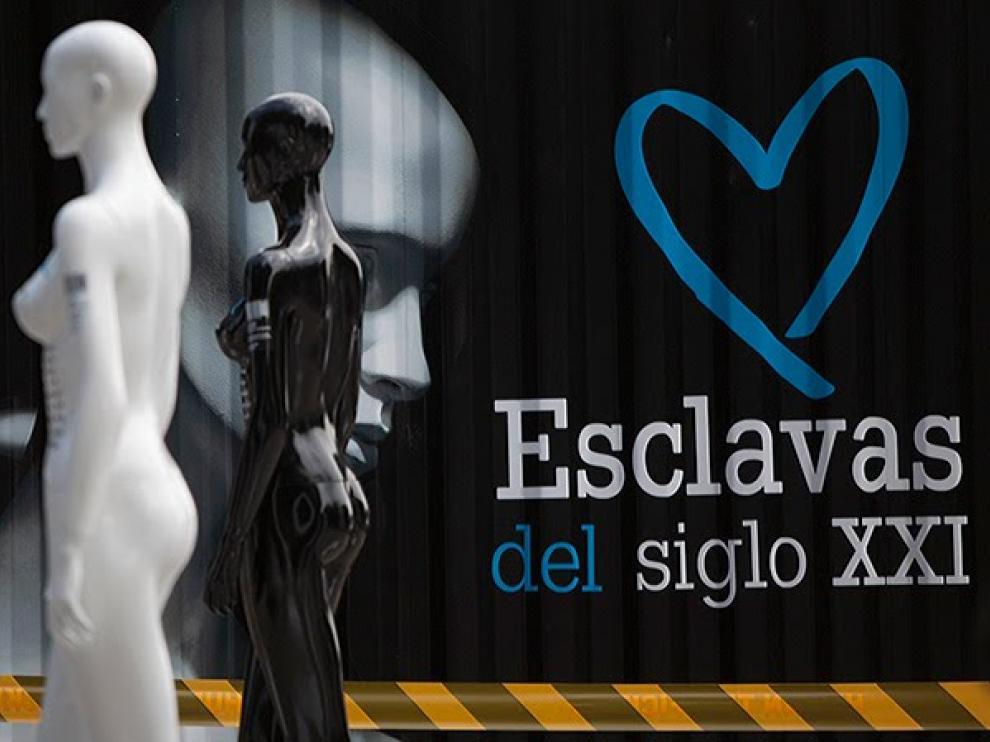 Campaña 'Corazón Azul' de Naciones Unidas contra la trata de personas