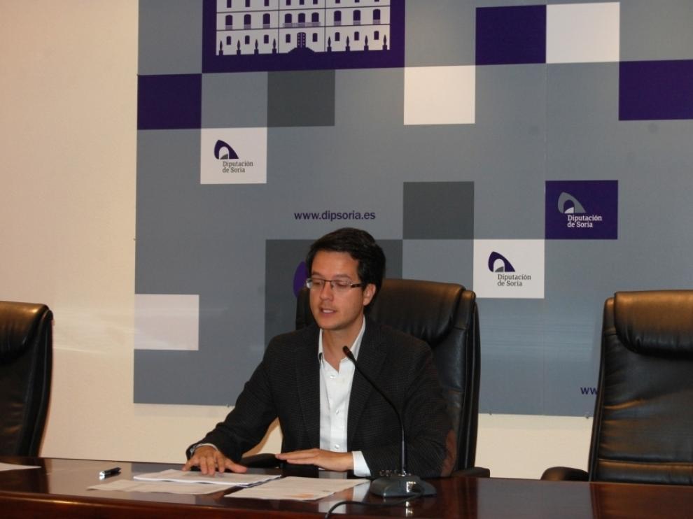 El vicepresidente segundo de la institución provincial y presidente de la Comisión de Planes Provinciales, Tomás Cabezón, este martes