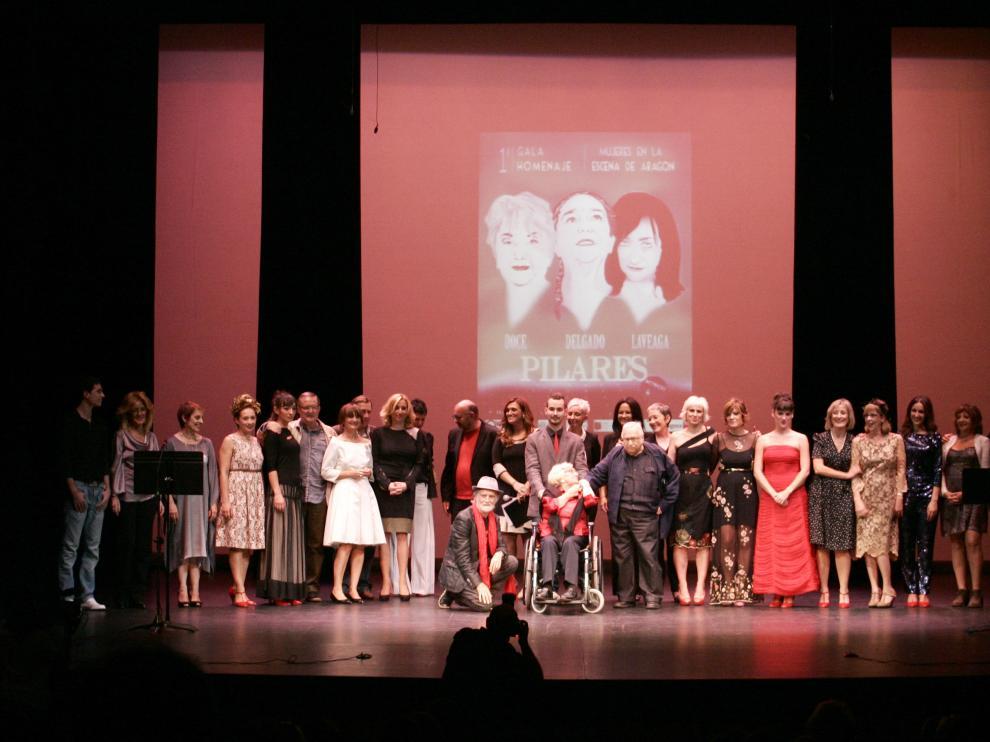 I Gala Homenaje Mujeres en la escena de Aragón