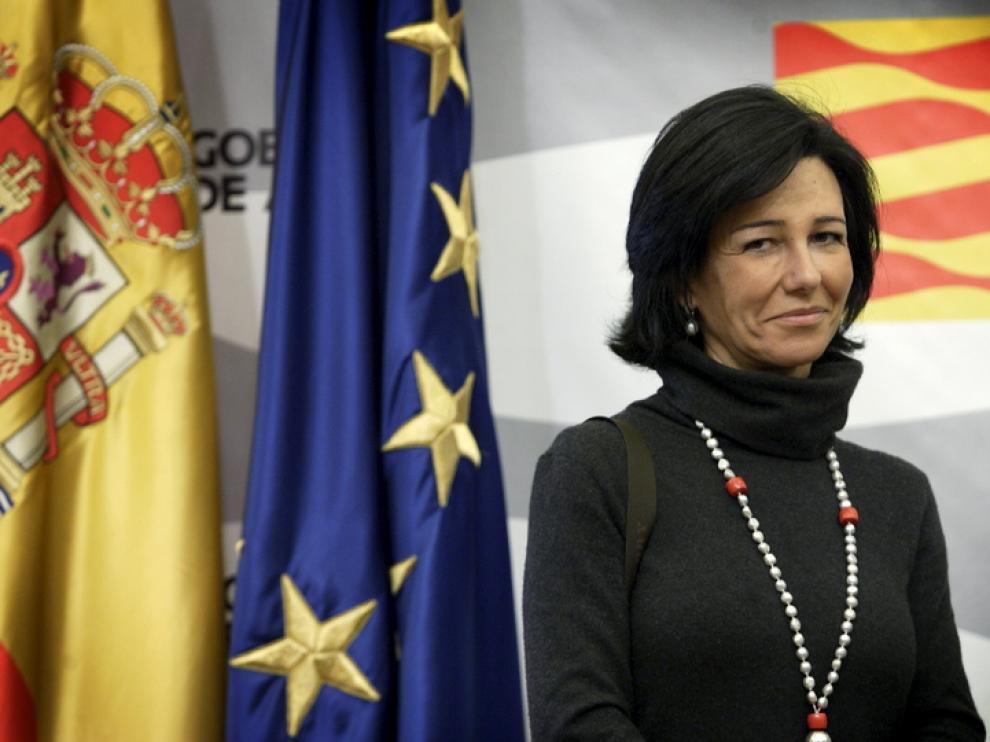 Ana Botín en una imagen de archivo