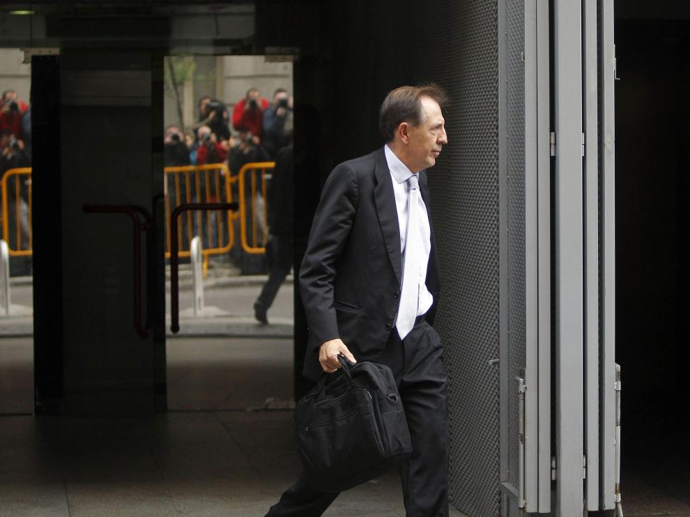 Barcoj a su salida de la Audiencia Nacional (Archivo)