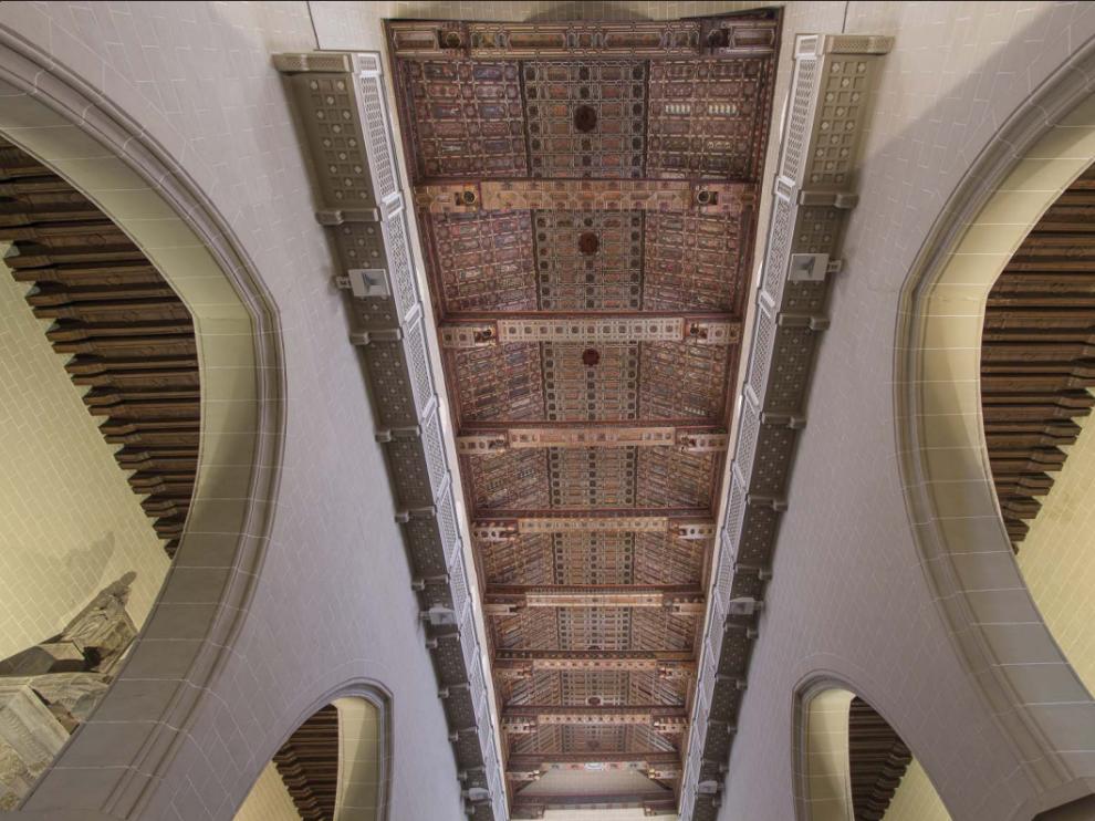 La catedral de Teruel, uno de los edificios que se comparan en la exposición