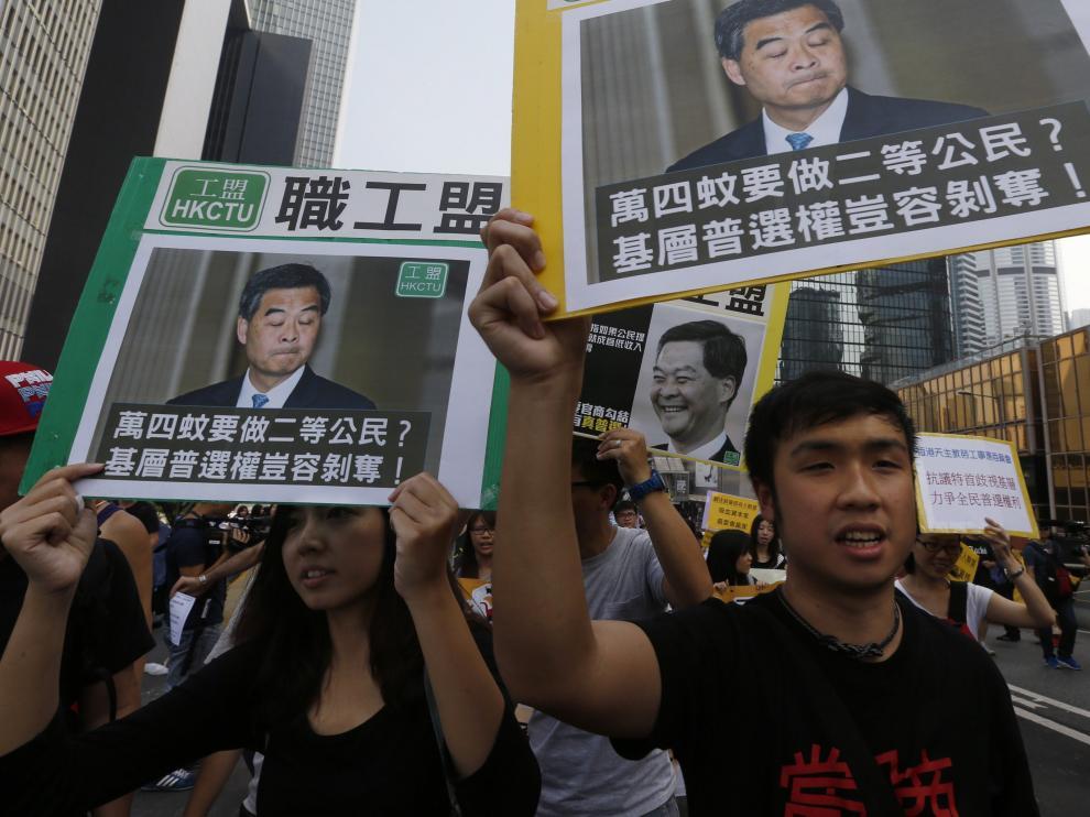 Los enfrentamientos vuelven a Hong Kong tras un infructuoso diálogo estudiantes-Gobierno