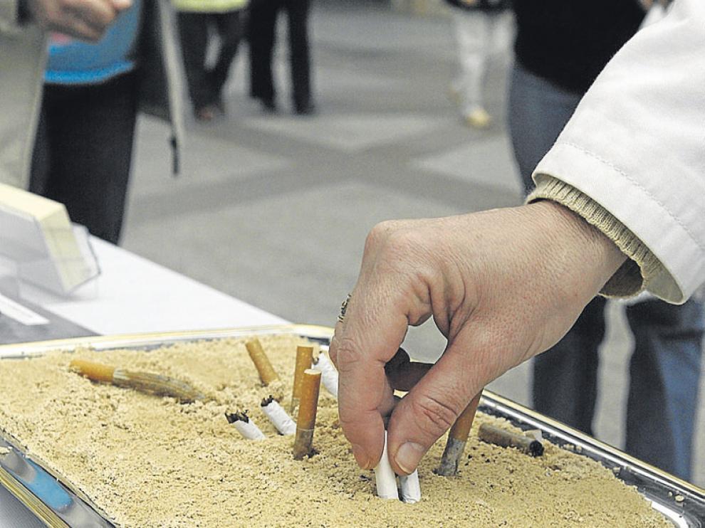 Una de las campañas de la AECC para dejar el tabajo