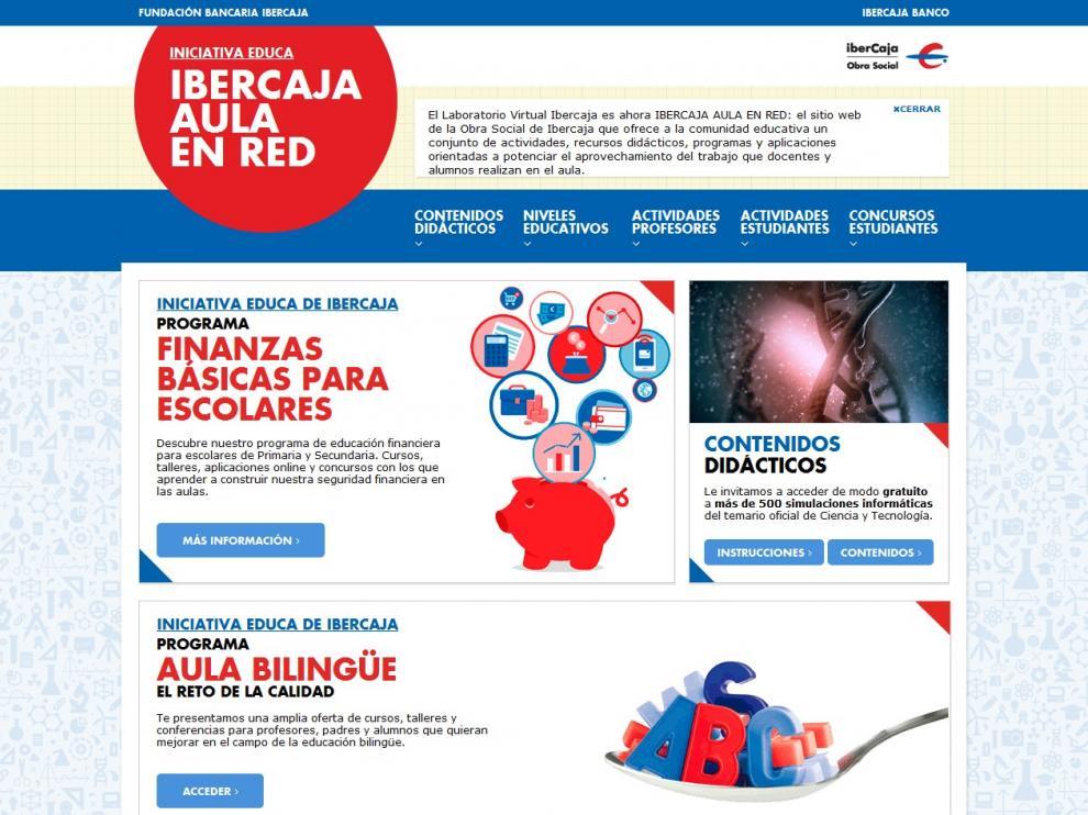 Imagen de la página web