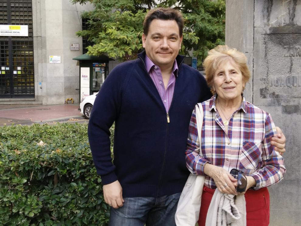 Fernando Hermida NIvela y Pilar Iris Arraztoa Bordetas, del Círculo de Aragón de Buenos Aires