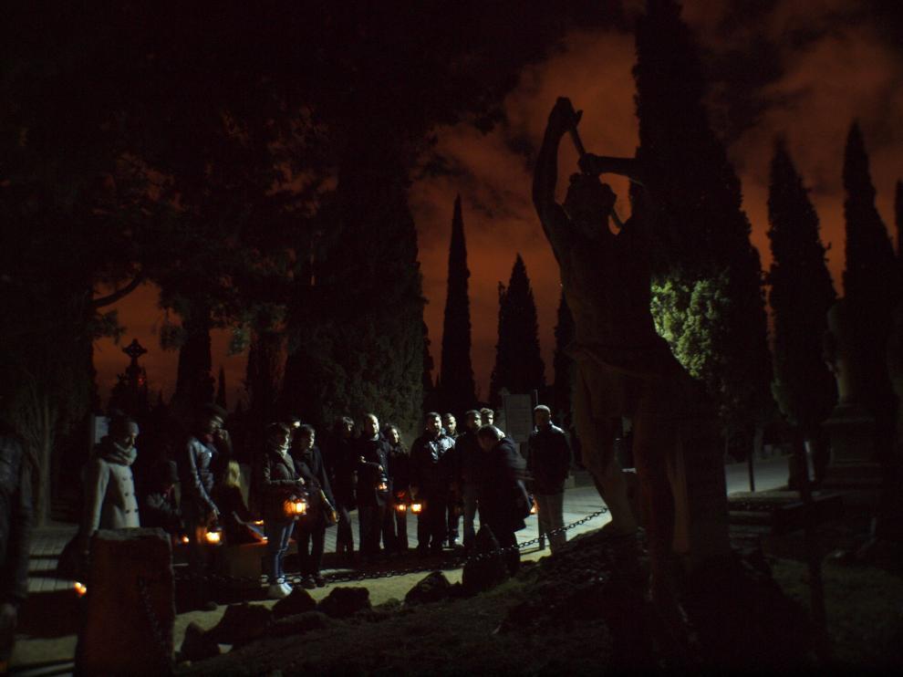 Vuelven las tradicionales visitas al cementerio de Torrero con Gozarte
