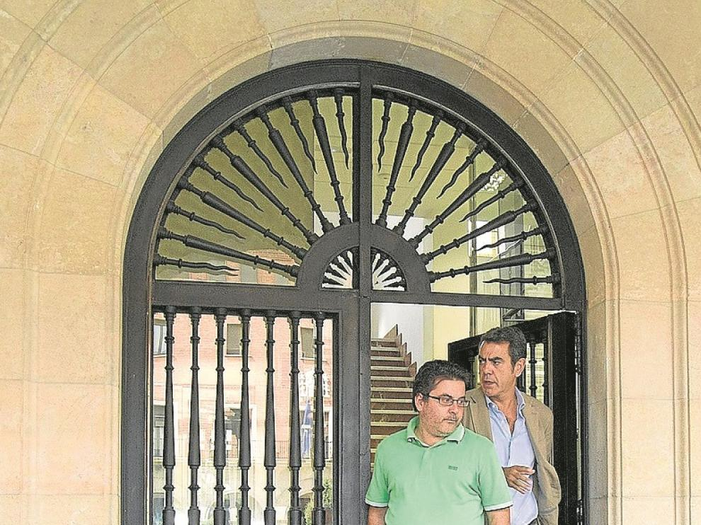 El farmacéutico de Cariñena llevaba en prisión 20 días.