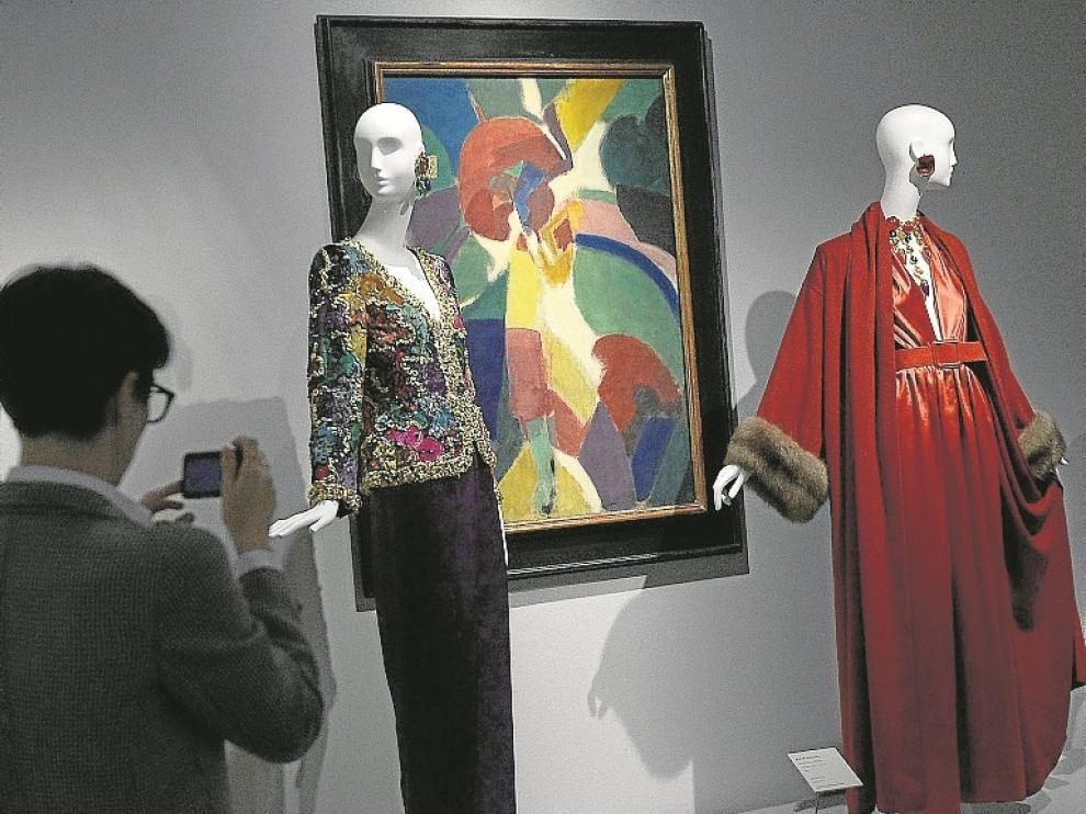 Creaciones de Givenchy en el Museo Thyssen.
