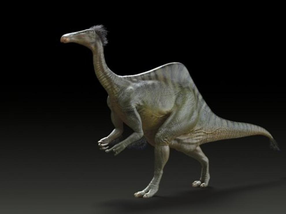 El Deinocheirus, un dinosaurio-avestruz de seis toneladas