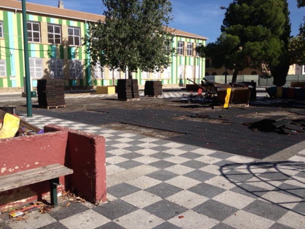 La plaza de la Diputación se remodelará con las obras del nuevo parking