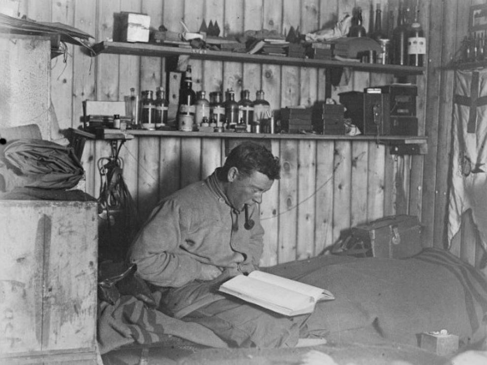 George Murray Levick, el dueño del cuaderno.