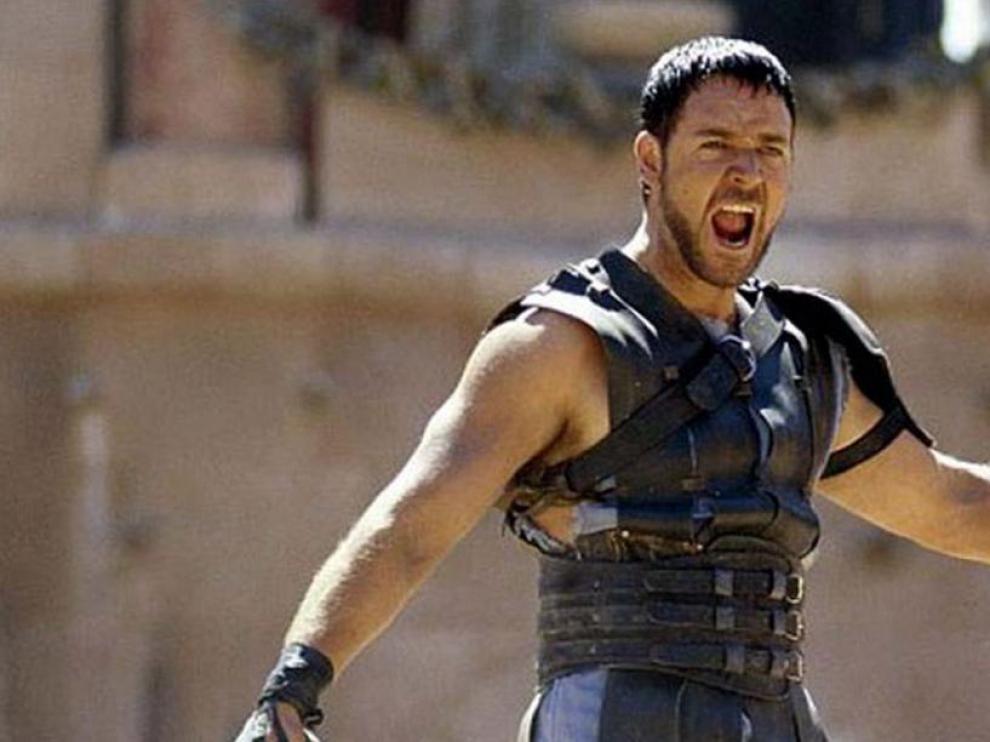 Fotograma de la película 'Gladiator', protagonizada por Russell Crowe