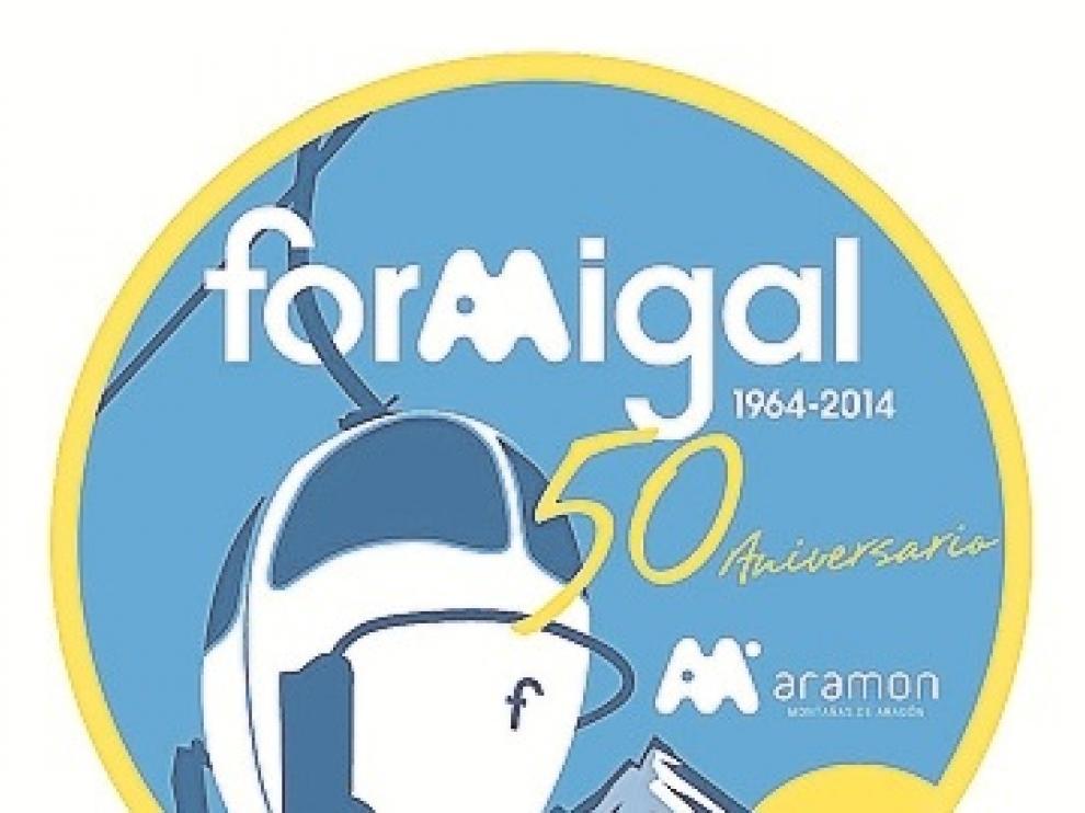 Logo que ha diseñado Formigal para la ocasión.