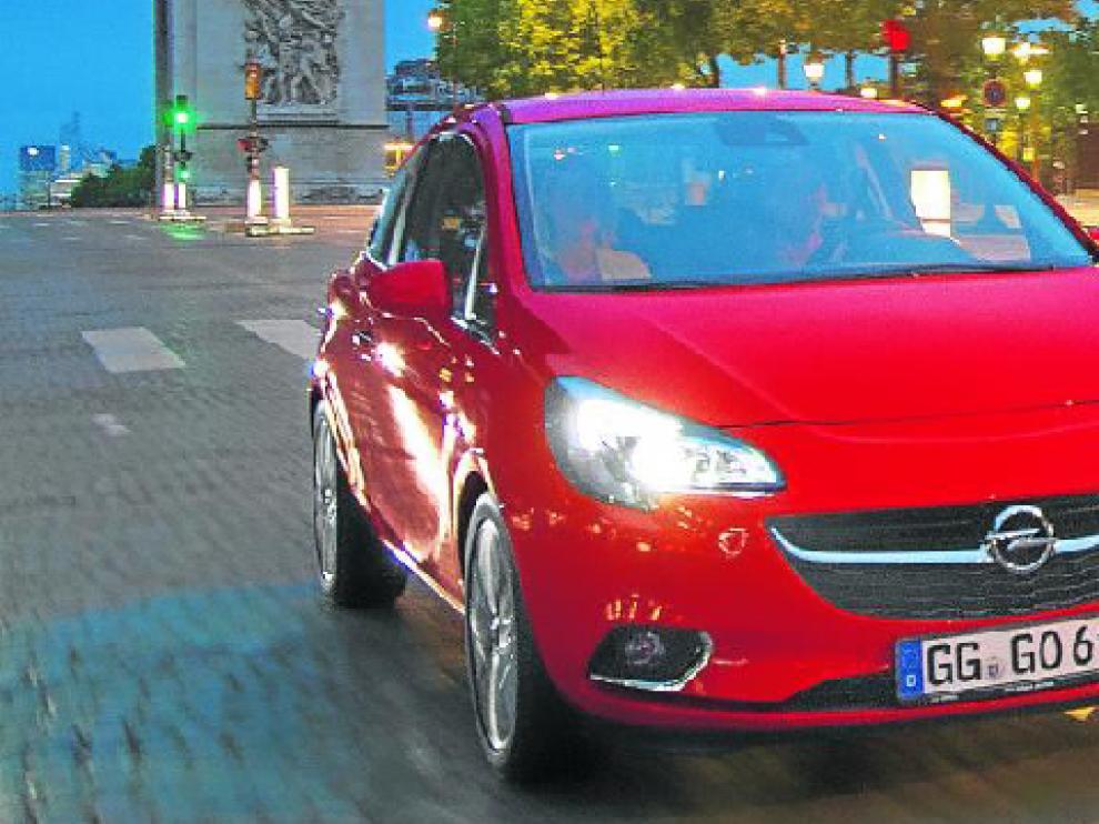 El Opel Corsa, en la 'pasarela' de París