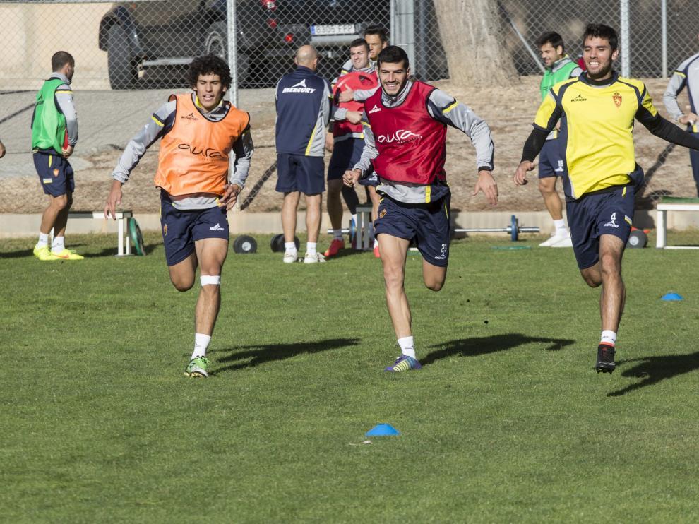 Vallejo, Álamo y Cabrera se baten al 'sprint'