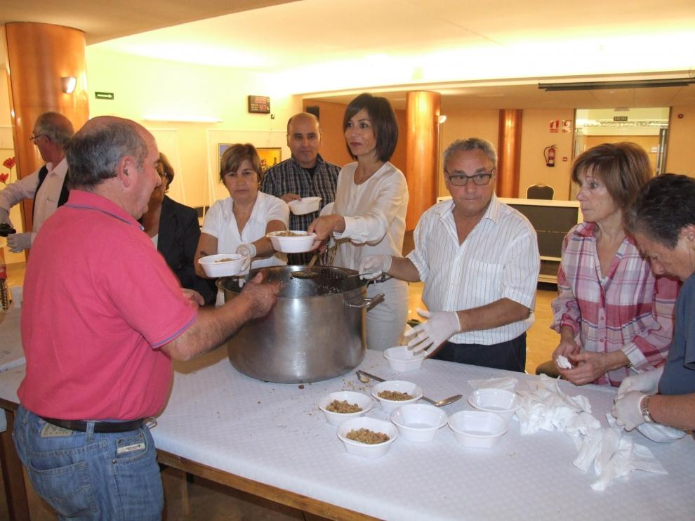 Comida para celebrar la festividad del Mayor en Tarazona