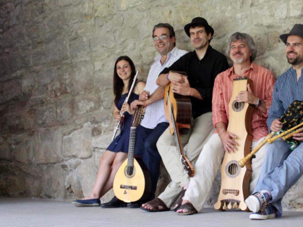 El grupo de música Mosicaries