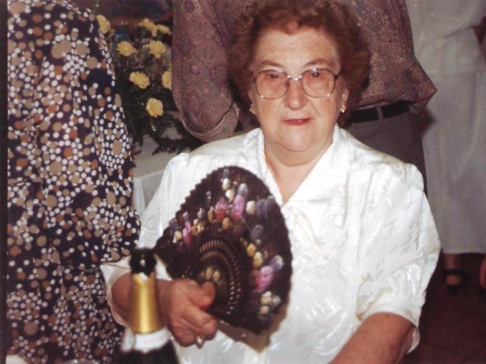 Concha Oliva cumple este sábado cien años