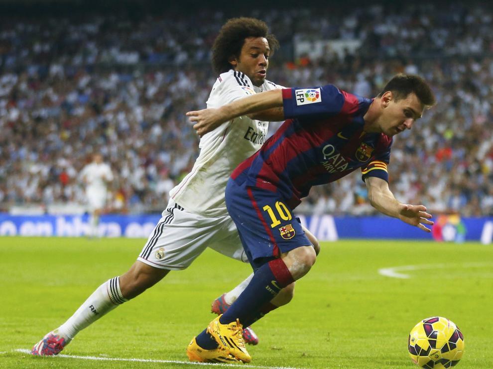 Los de Ancelotti no dejaron respirar al Barça en el segundo tiempo