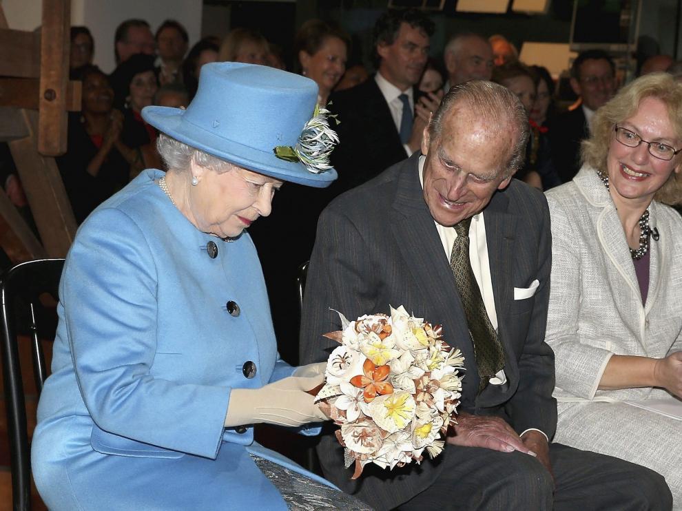 La reina Isabel II este viernes