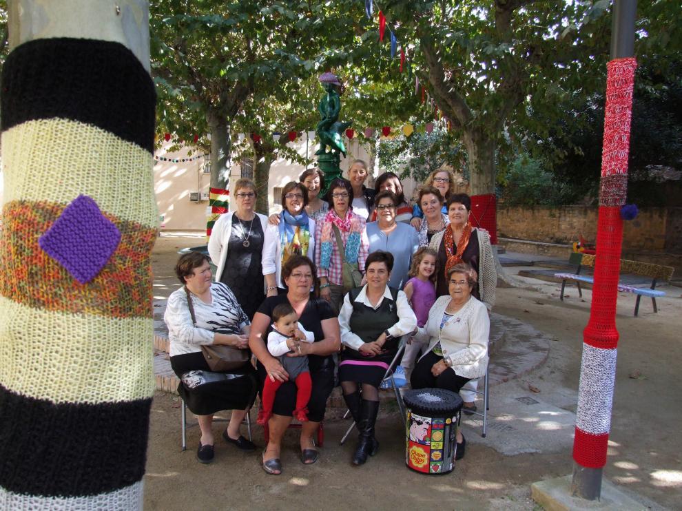 'Urban knitting' en Tarazona