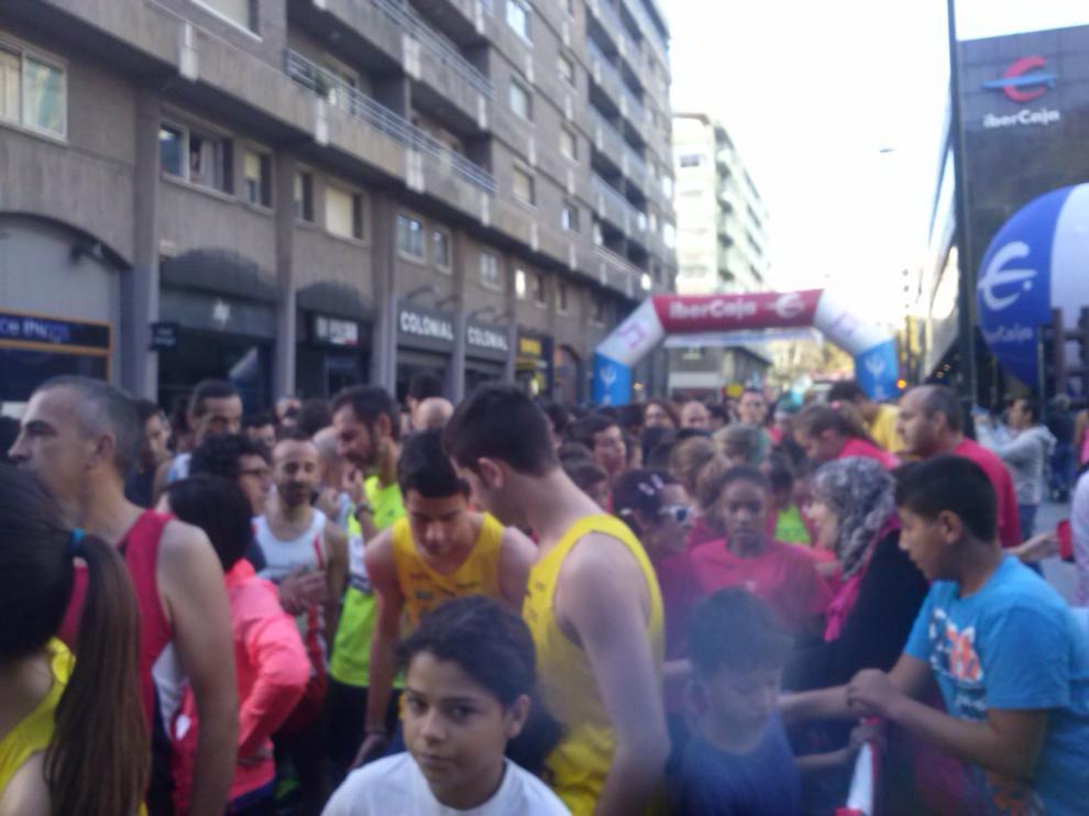 Imagen de archivo de la Carrera Popular Ibercaja 'Por la integración'.