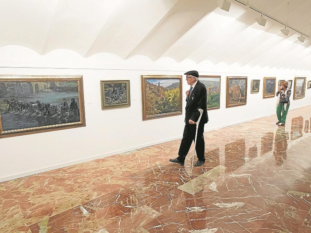 La obra de Alegre puede verse en el antiguo Banco de España.