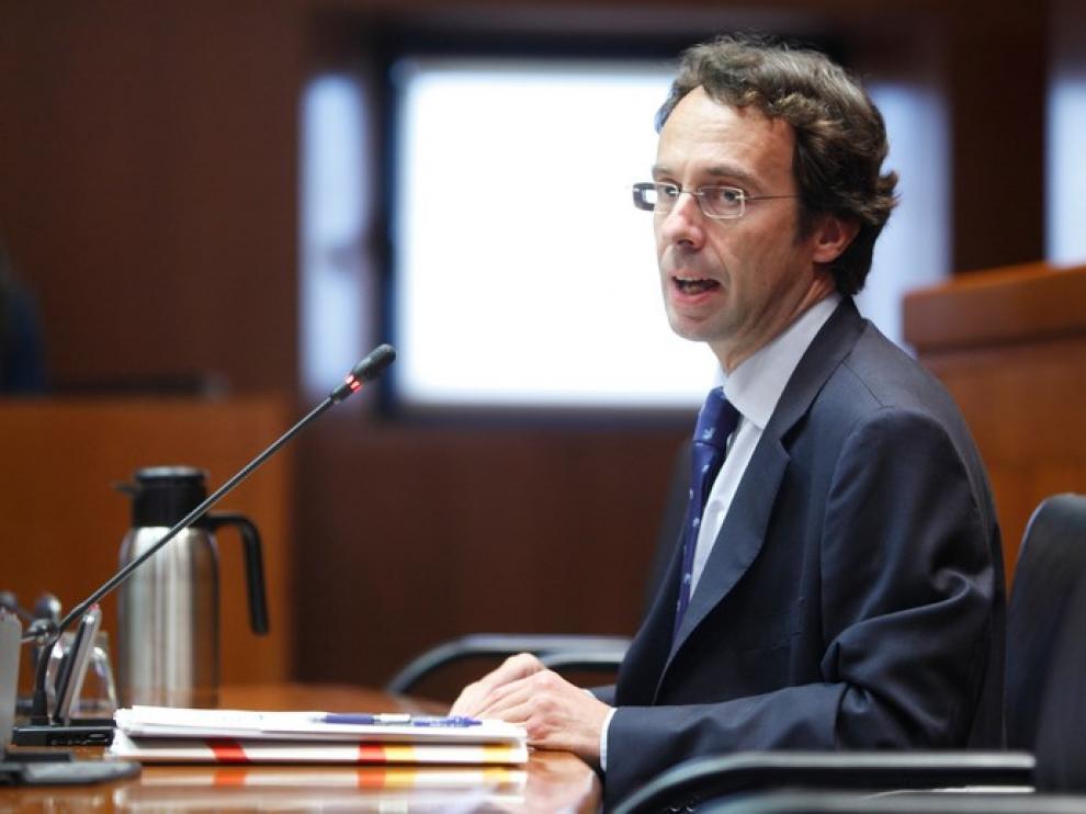 Mario Varea, consejero delegado de la Corporación Empresarial Pública de Aragón