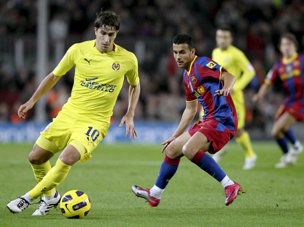 Cani, en un partido frente al Barcelona