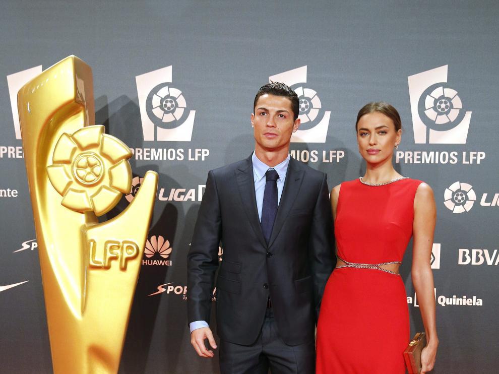 Cristiano Ronaldo, con tres trofeos, gran protagonista de la Gala de los Premios LFP 2014