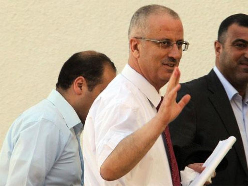 Rami Hamdalah en una foto de archivo