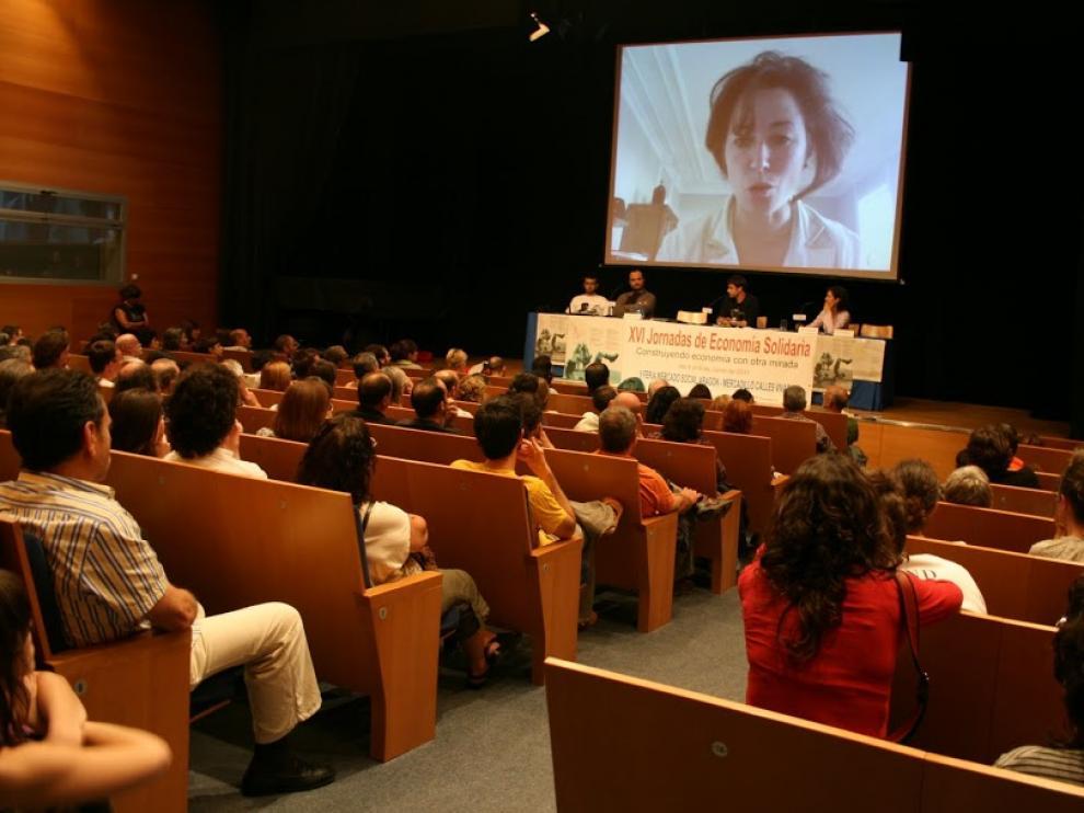 Imagen de archivo de las XVI Jornadas de Economía Solidaria.