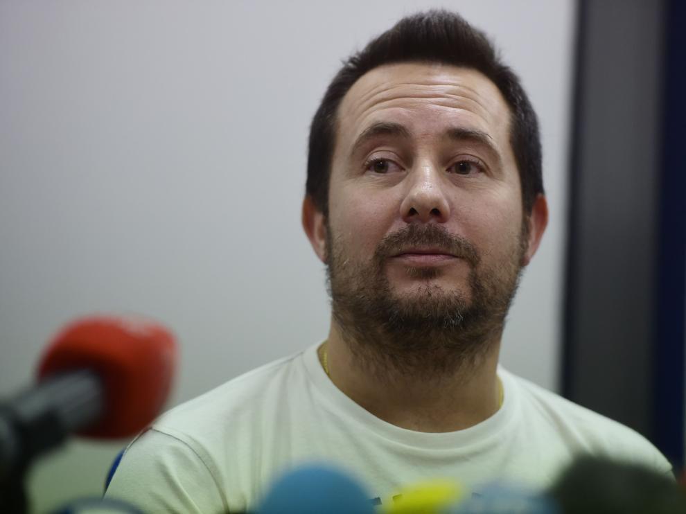 Javier Limón en rueda de prensa.