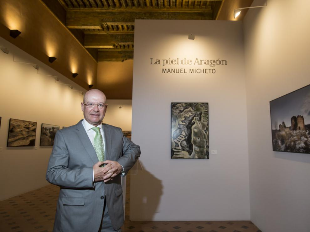 Veintidós fotografías del bilbilitano Manuel Micheto se exponen desde hoy en el Palacio de la Aljafería, en Zaragoza, para mostrar 'La piel de Aragón'